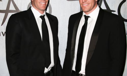 Portrait Der Winkelvoss Zwillinge