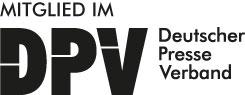 Deutscher Presse Verband Logo schwarz