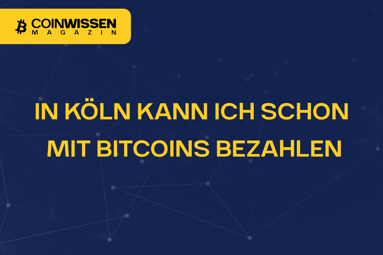 Bitcoin-Köln